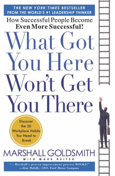 หนังสือ What got you here won't get you there